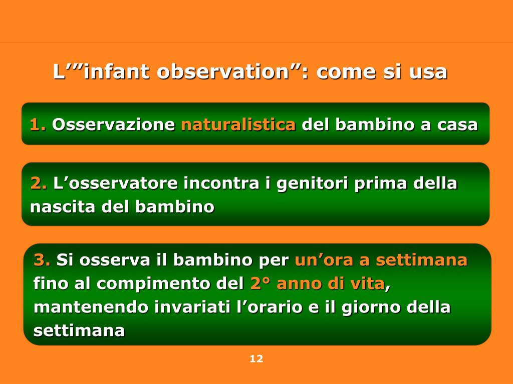 "L'""infant observation"": come si usa"