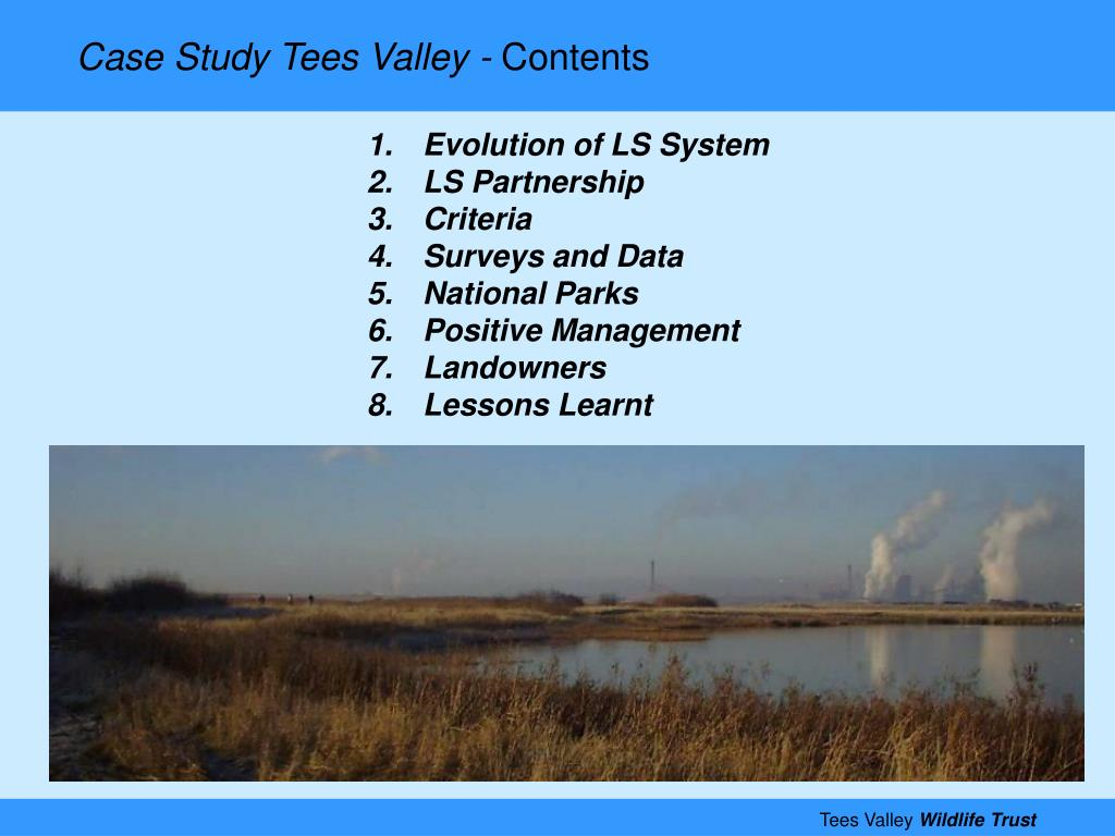 Case Study Tees Valley -