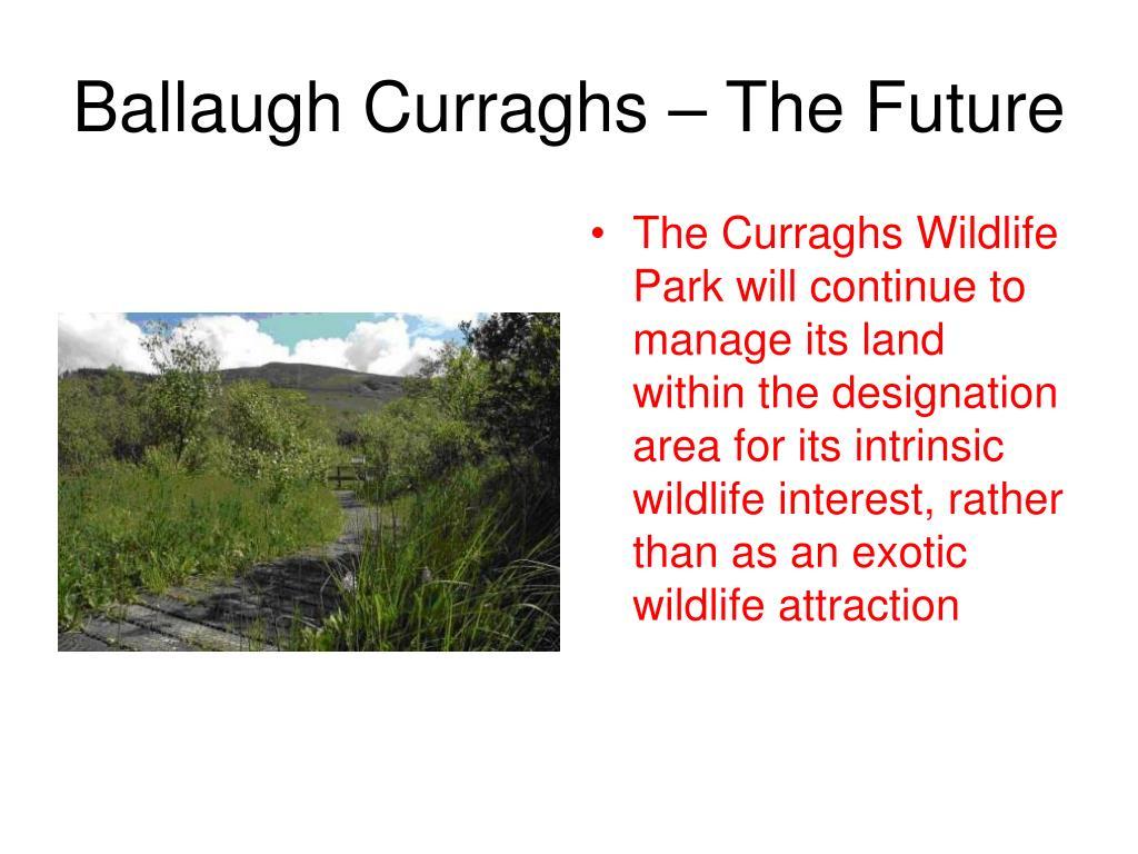 Ballaugh Curraghs – The Future