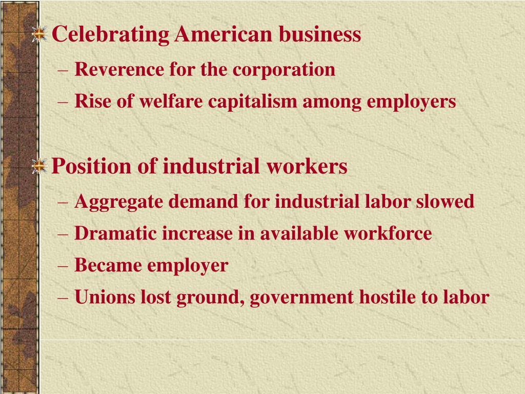 Celebrating American business