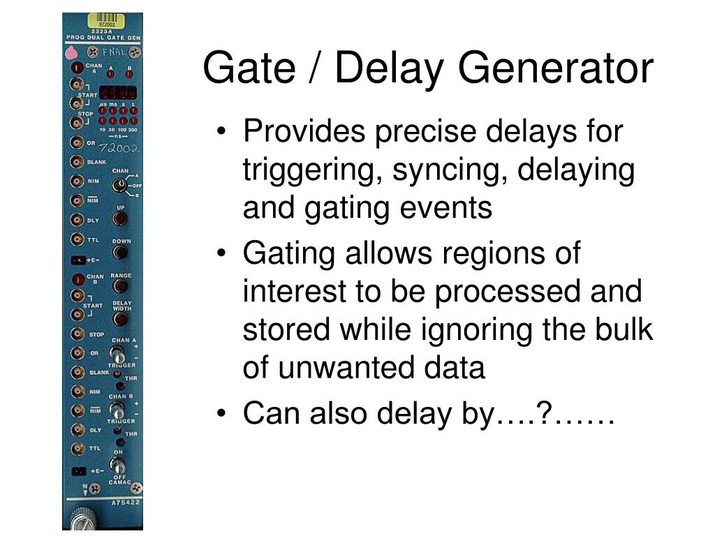 Gate / Delay Generator
