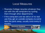 local measures