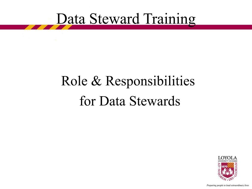 Role & Responsibilities