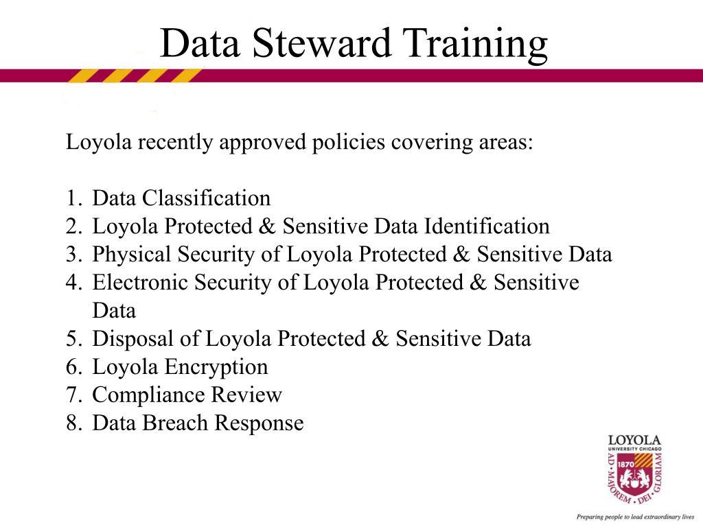 Data Steward Training