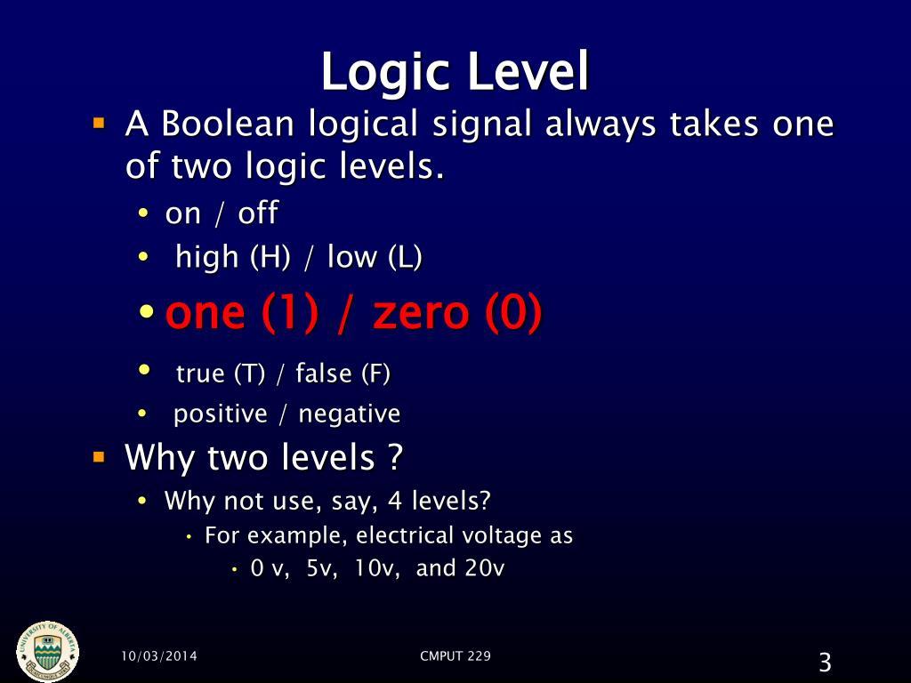 Logic Level