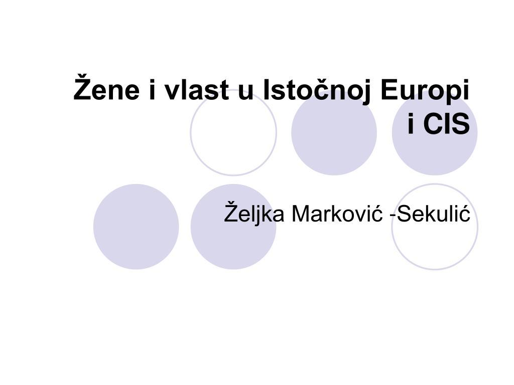 Žene i vlast u Istočnoj Europi
