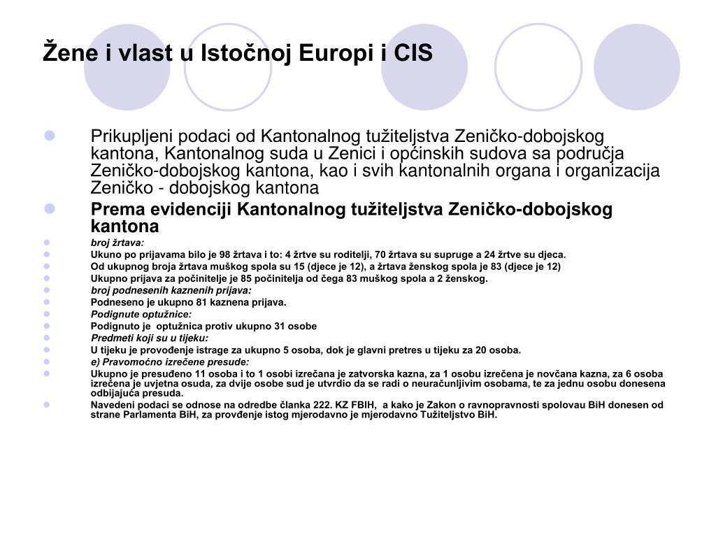 Žene i vlast u Istočnoj Europi i CIS