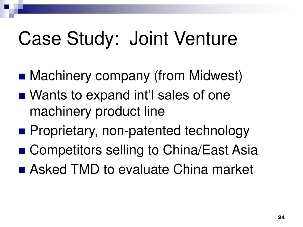 JV (Joint Venture) Case Study - YouTube