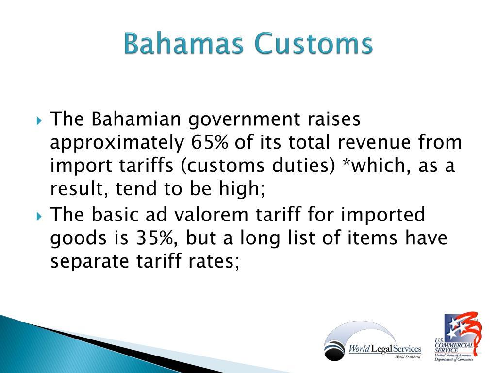 Bahamas Customs