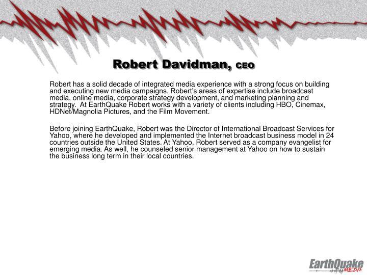 Robert Davidman,