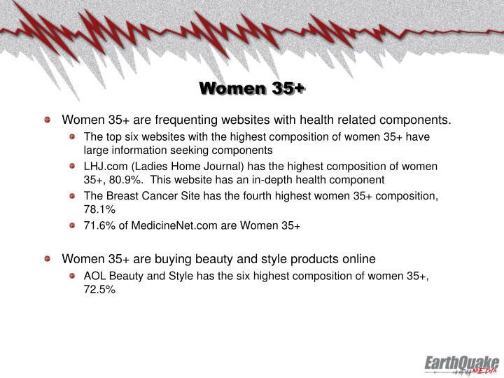 Women 35+