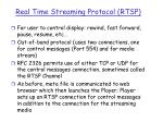real time streaming protocol rtsp