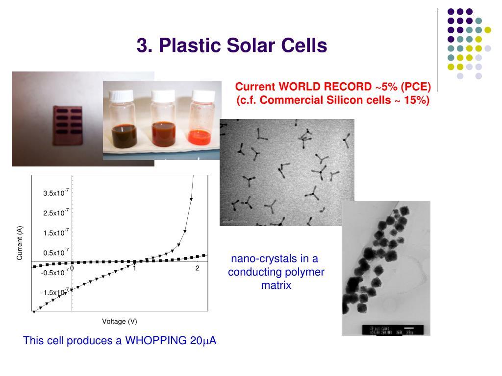 3. Plastic Solar Cells