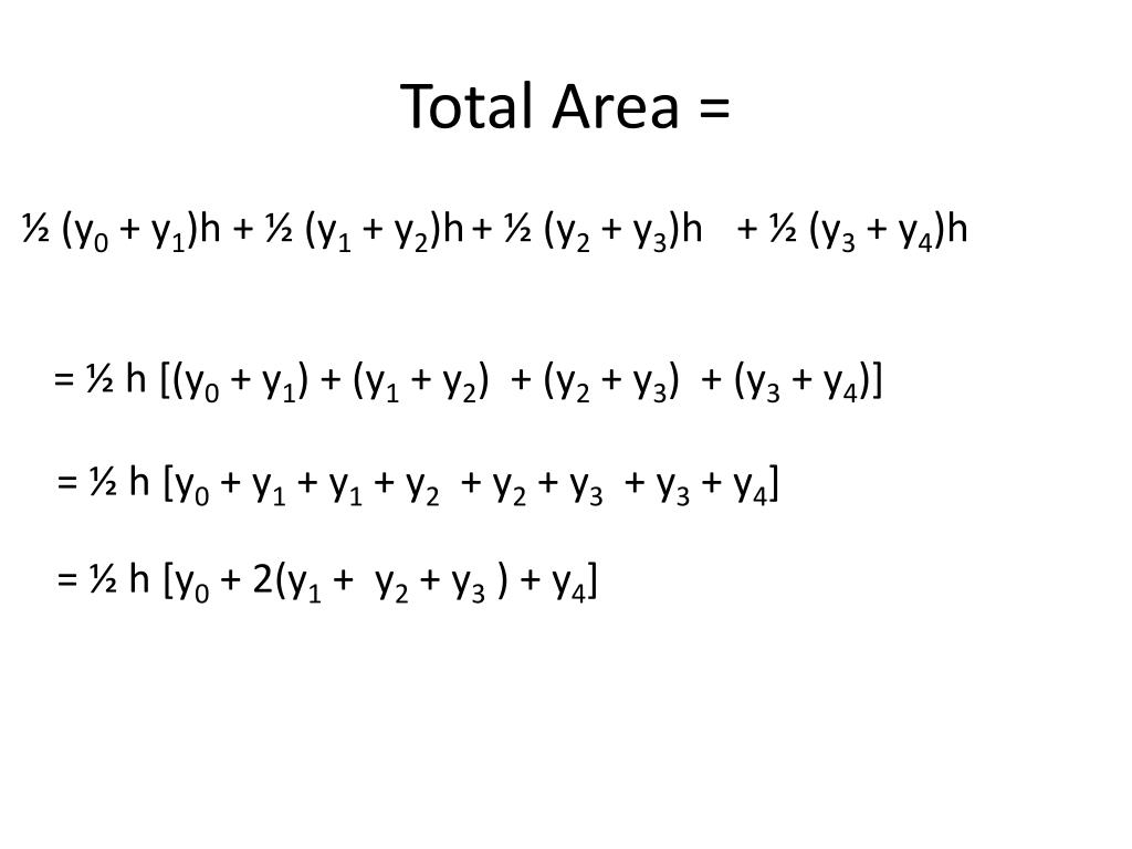 Total Area =