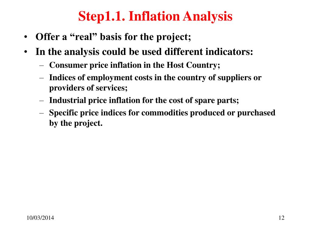 Step1.1. Inflation Analysis