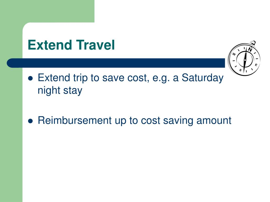 Extend Travel
