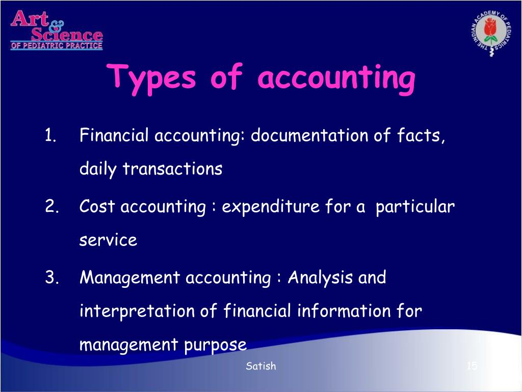 Types of accounting