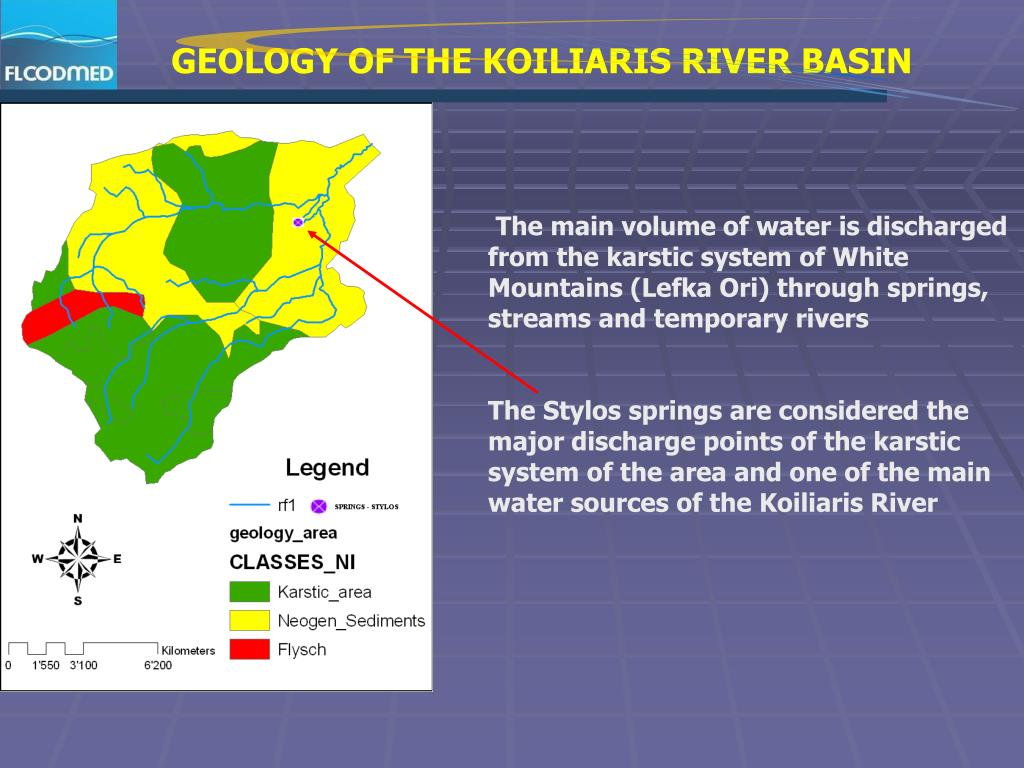 GEOLOGY OF THE KOILIARIS RIVER BASIN