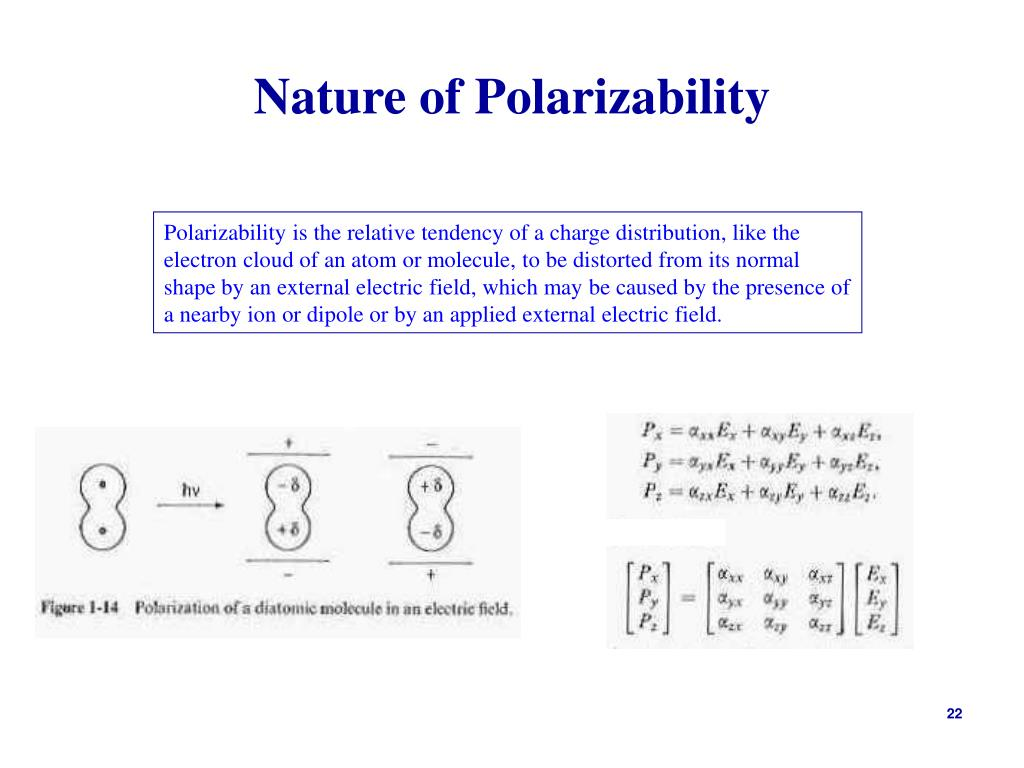 Nature of Polarizability