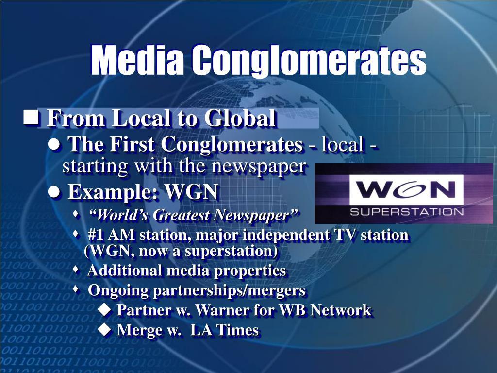 Media Conglomerates