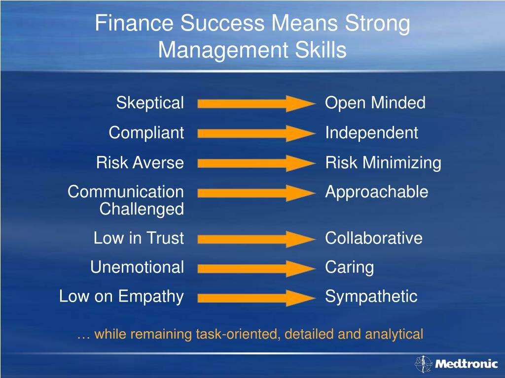 Finance Success Means Strong