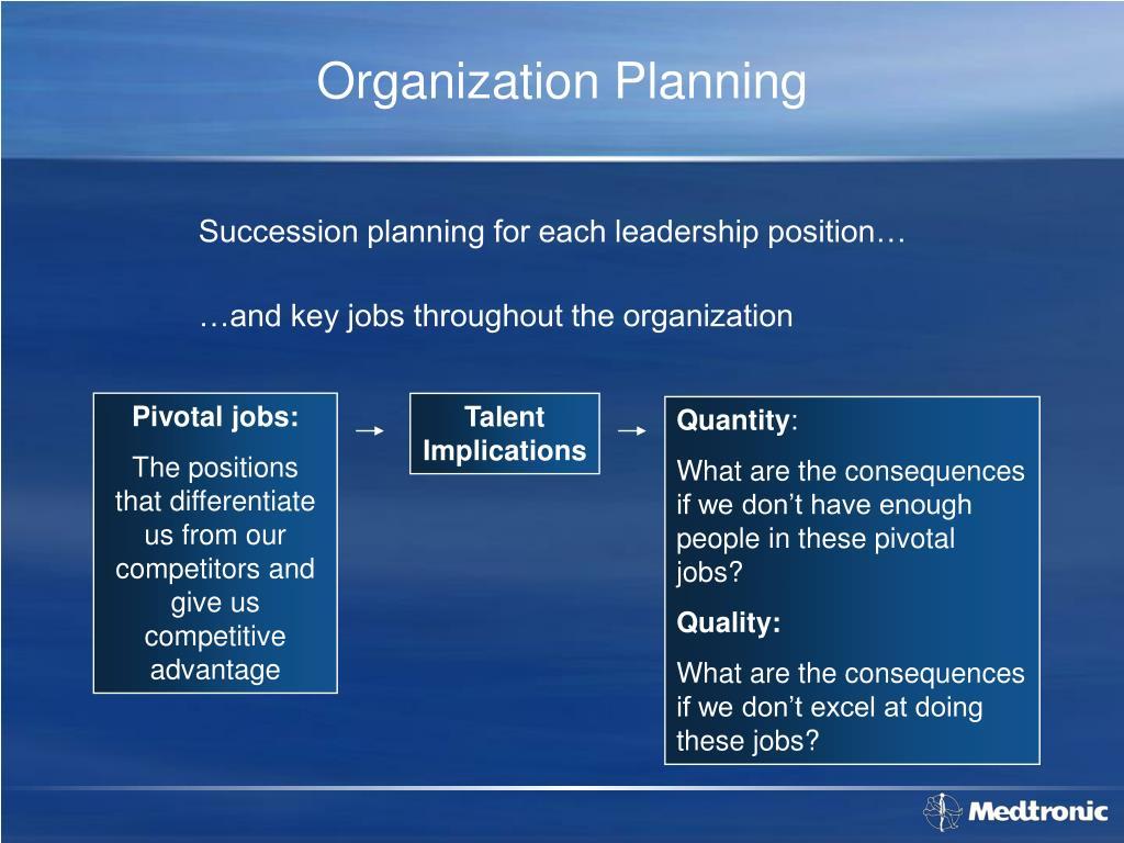 Organization Planning
