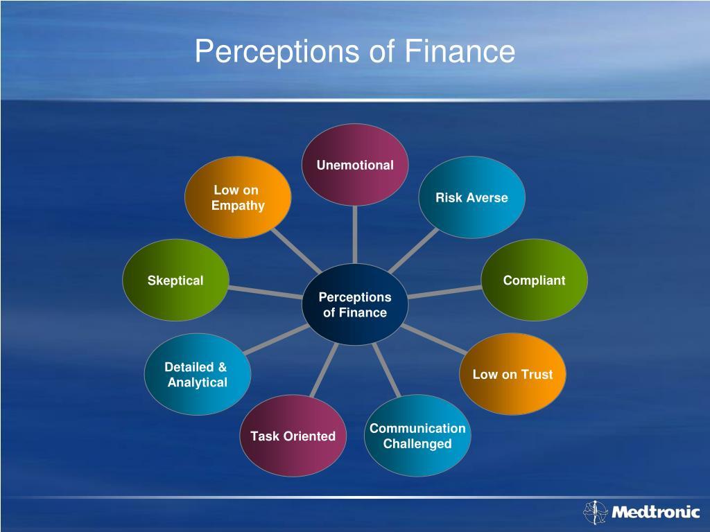 Perceptions of Finance