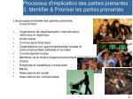 processus d implication des parties prenantes 2 identifier prioriser les parties prenantes