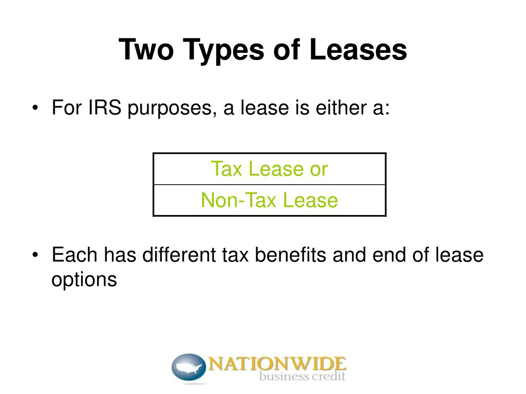Two Types of Leases