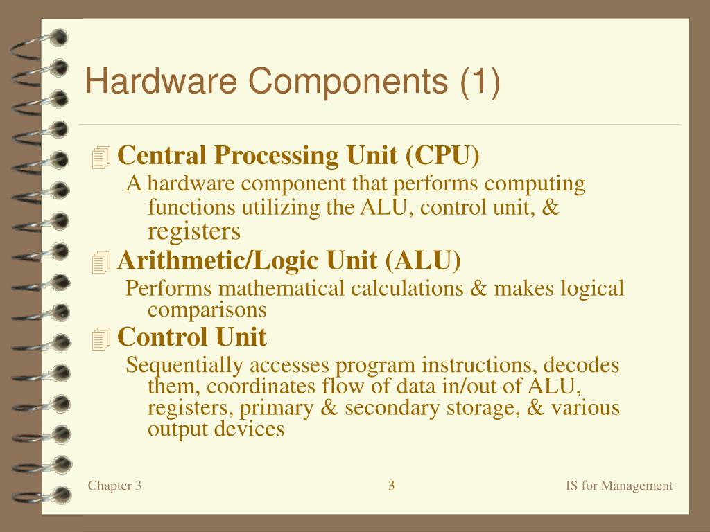 Hardware Components (1)