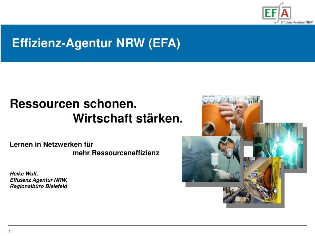Effizienz-Agentur NRW (EFA)