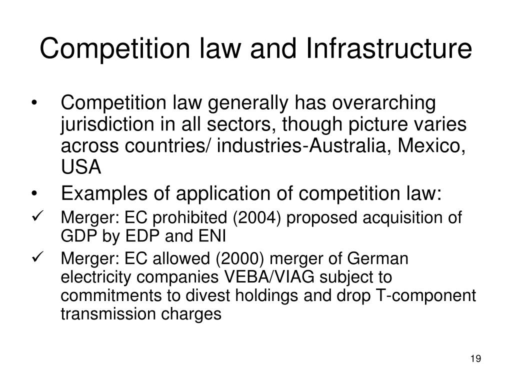 Ppt Competition In Infrastructure Sector By Vinod Dhall