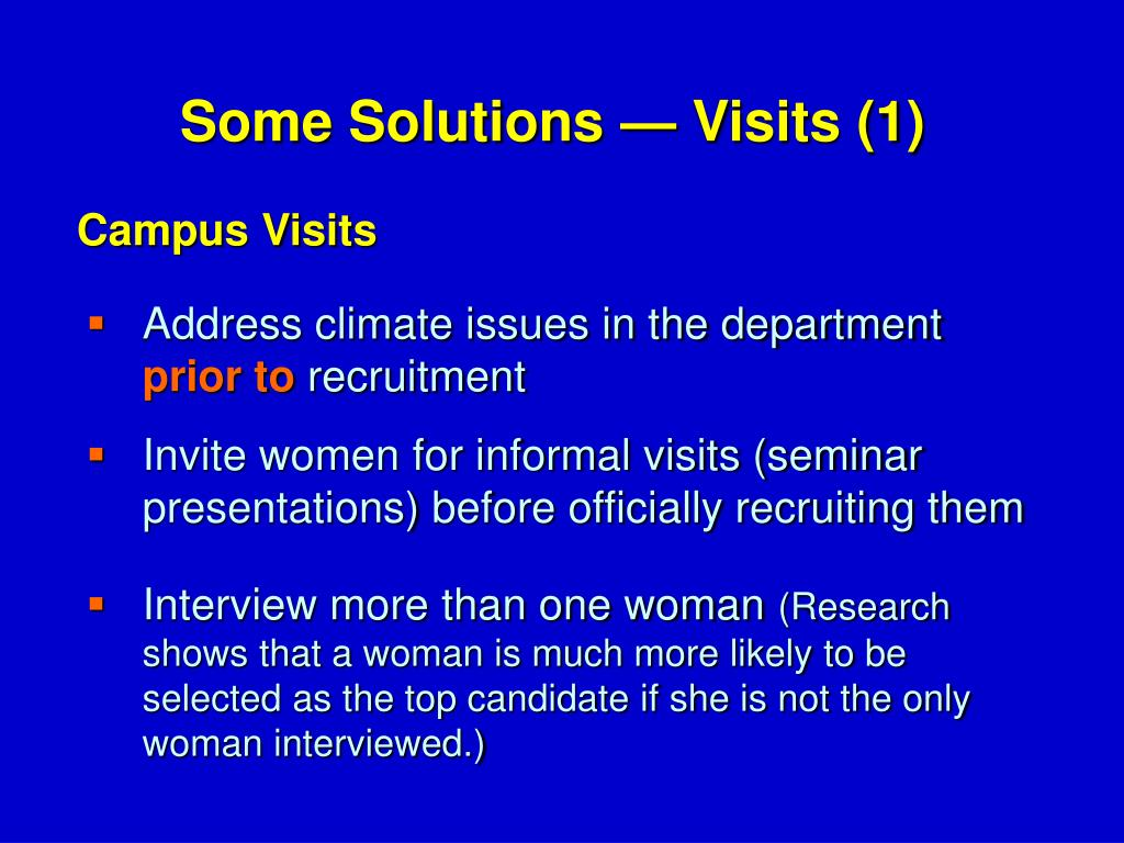 Address climate issues in the department