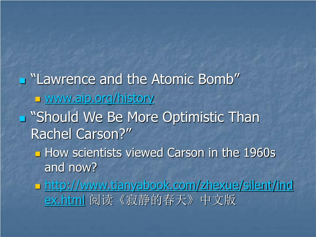 """""""Lawrence and the Atomic Bomb"""""""