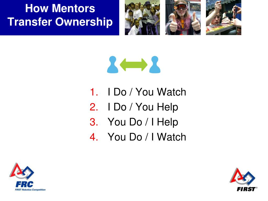 How Mentors Transfer Ownership