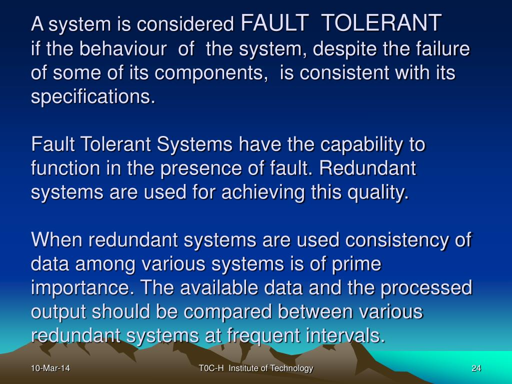 A system is considered