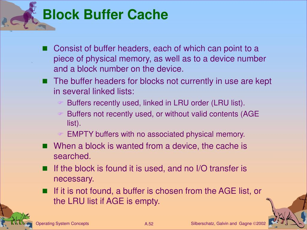 Block Buffer Cache