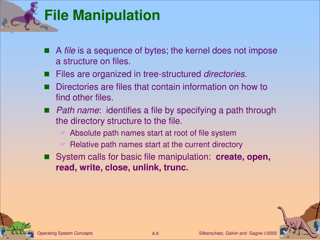 File Manipulation