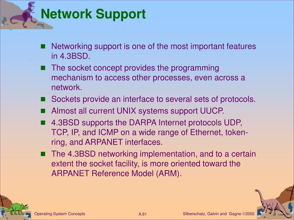 Network Support