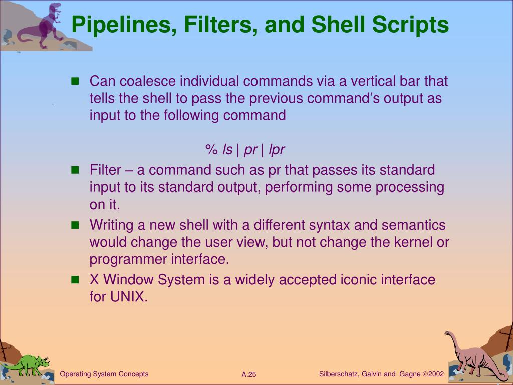 Pipelines, Filters, and Shell Scripts