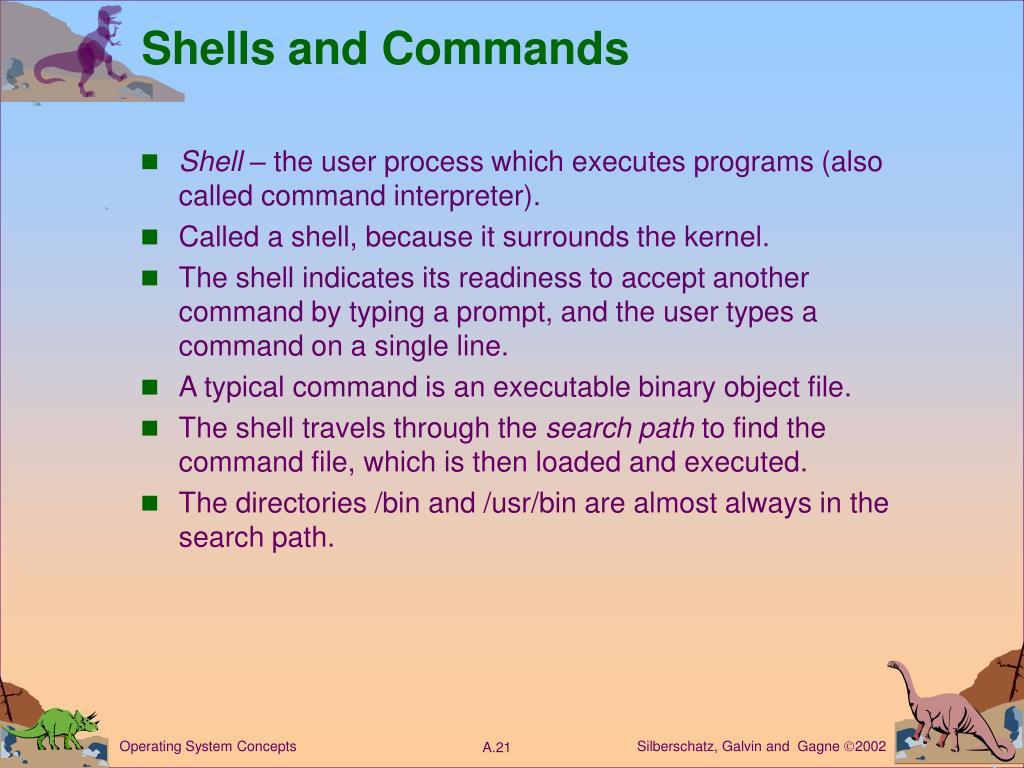 Shells and Commands