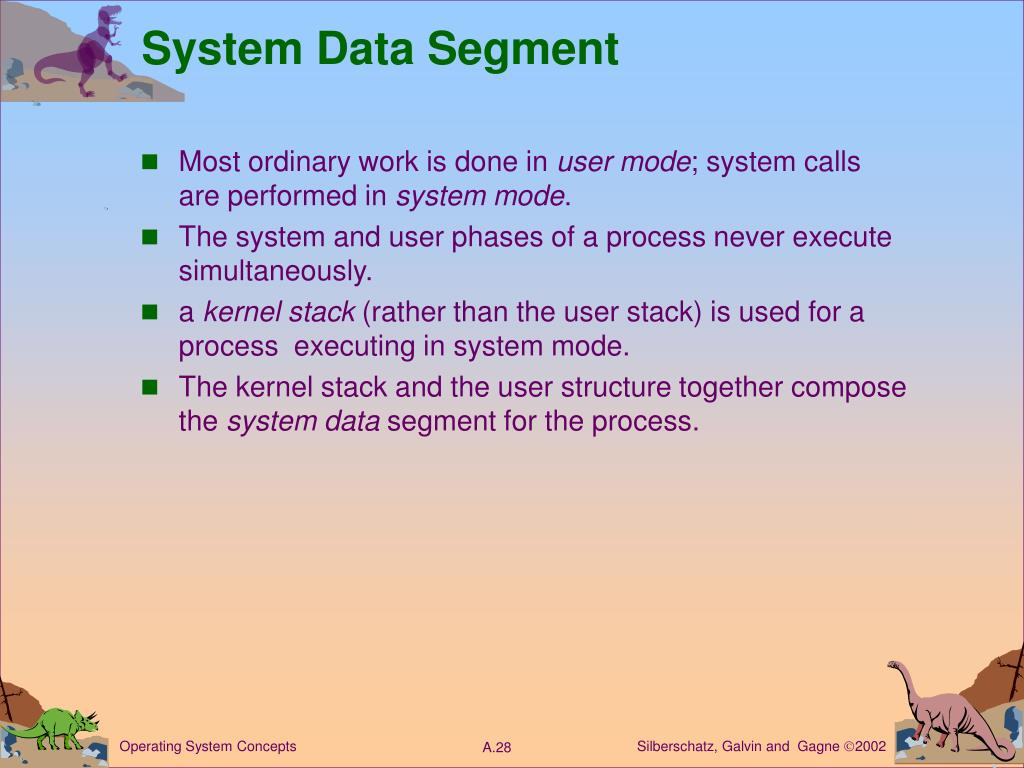 System Data Segment