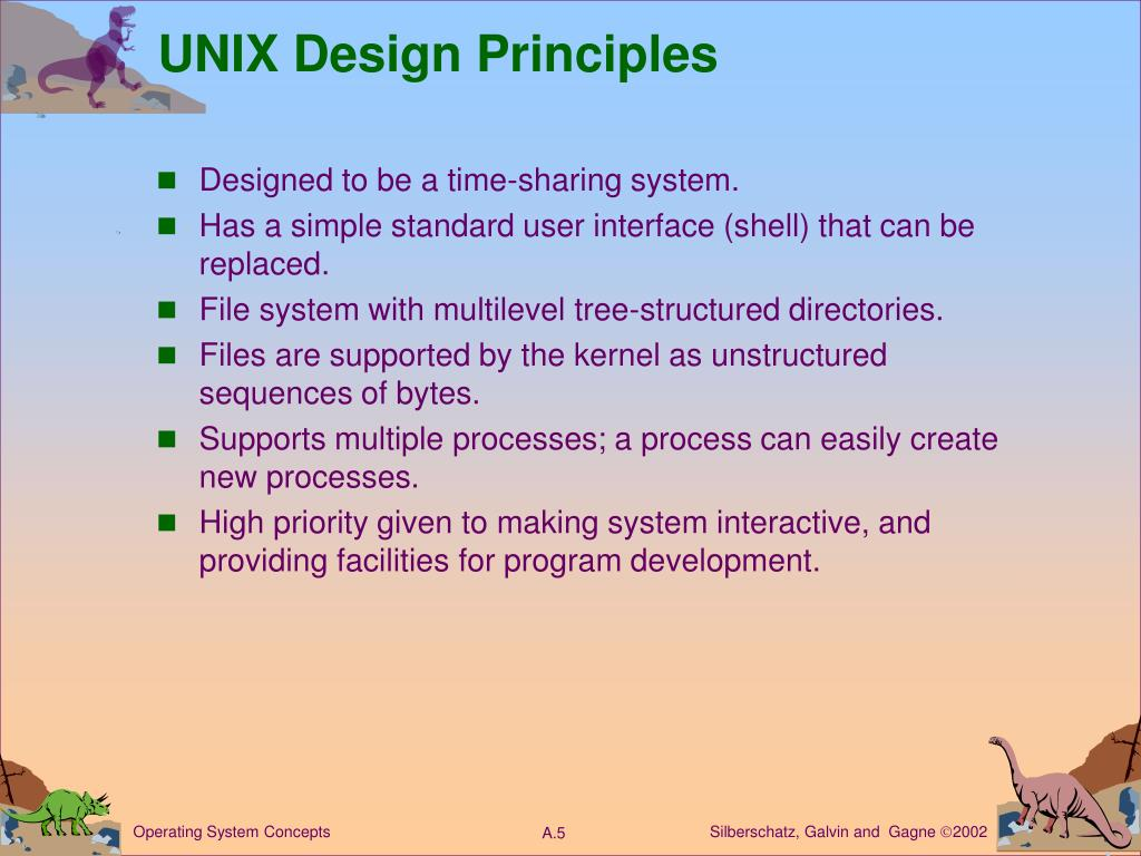 UNIX Design Principles