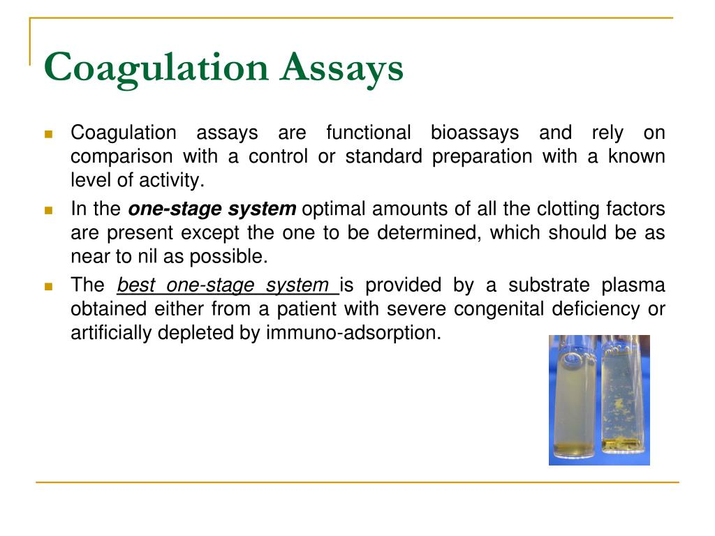 Coagulation Assays