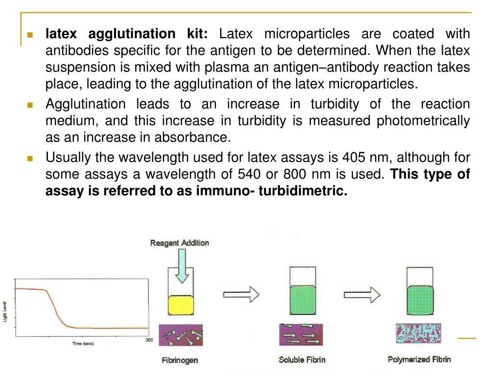 latex agglutination kit: