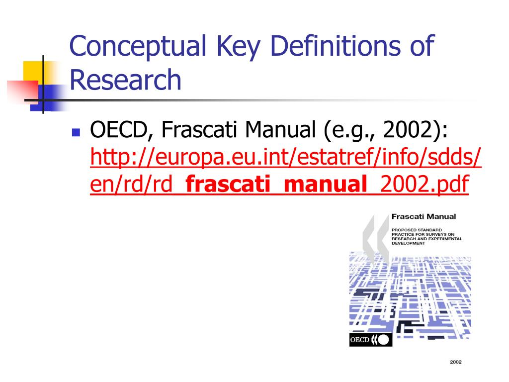 Conceptual Key Definitions of Research