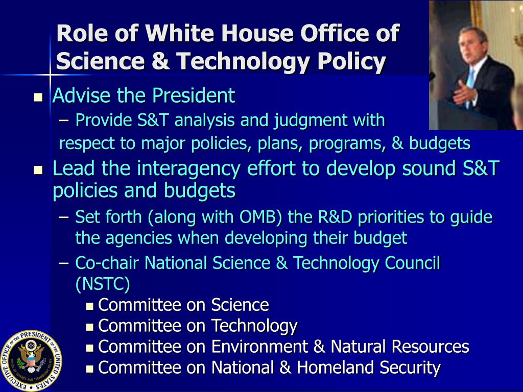 Role of White House Office of