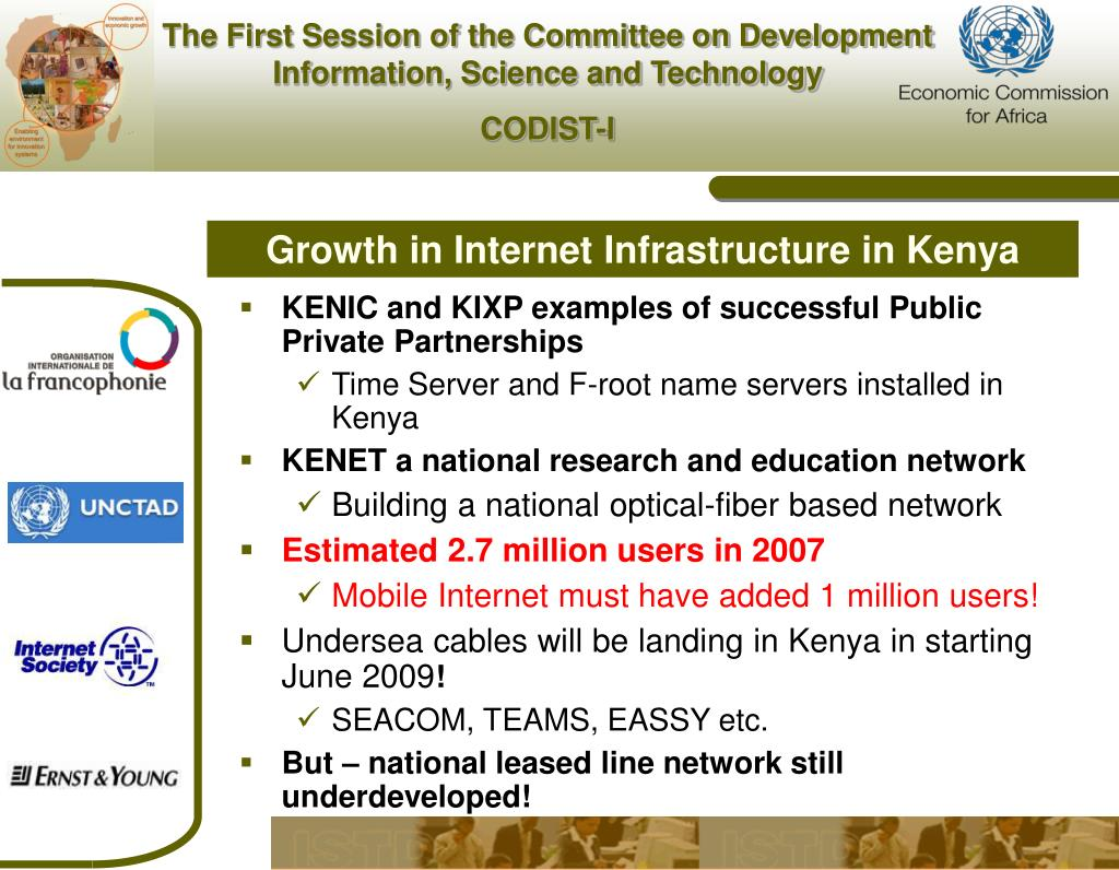 Growth in Internet Infrastructure in Kenya