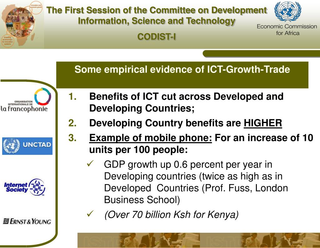 Some empirical evidence of ICT-Growth-Trade
