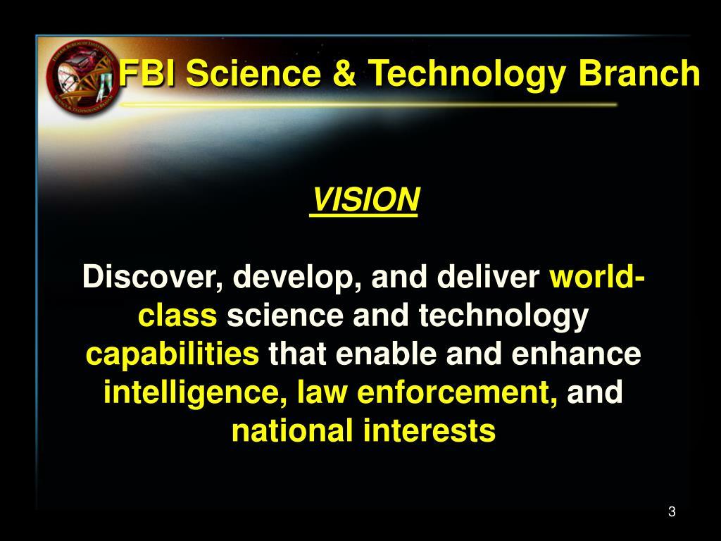 FBI Science & Technology Branch